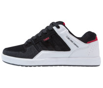 PORTAL SOCO - Skaterschuh - black/white/red