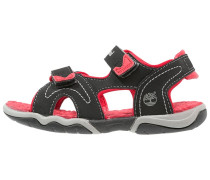 ADVENTURE SEEKER - Trekkingsandale - black/red