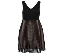 Jerseykleid black
