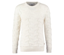 HUGO Strickpullover off white