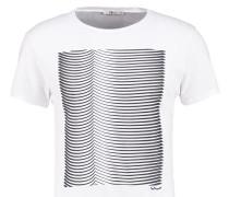WOLIXA - T-Shirt print - white