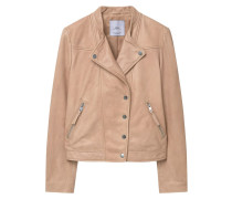 LAURA Lederjacke light pink