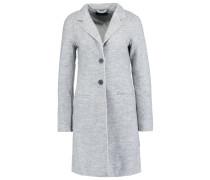 ONLELLA Wollmantel / klassischer Mantel light grey melange