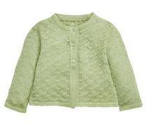 Strickjacke green