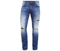 Jeans Slim Fit destroyed denim