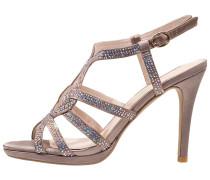 High Heel Sandaletten beige