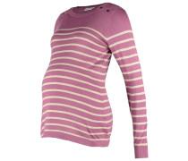 BRETON Strickpullover pink/oatmeal