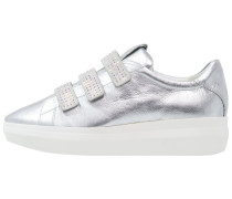 Sneaker low - silber