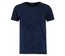 NIFONA - T-Shirt basic - indigo