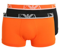 2 PACK Panties carrot/black