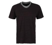 BATAK - T-Shirt print - ruby wine melanged