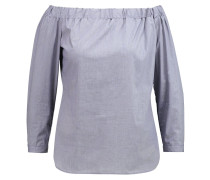 Bluse blue/offwhite