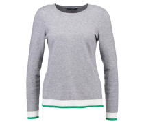 Strickpullover grey/green