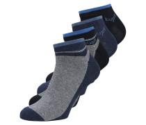 4 PACKS - Socken - indigo melange/dark navy