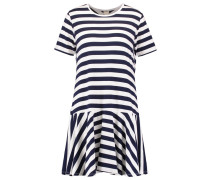 Jerseykleid - bright white/maritime blue