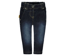 Jeans Tapered Fit dunkelblau
