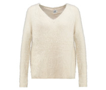 FEATHER Strickpullover creme