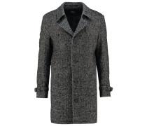 MATHION Wollmantel / klassischer Mantel schwarz