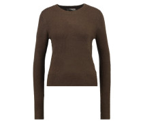 THE PERFECT - Strickpullover - khaki