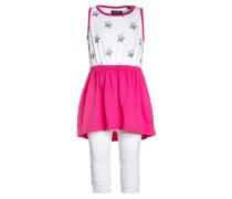 SET Jerseykleid pink