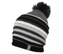 Mütze black/jet heather