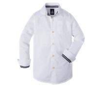 PUFFER BOYS Hemd white