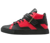 SASHIMI Sneaker high vintage black/red/gold