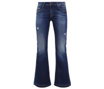 SILVIA Flared Jeans morning wash
