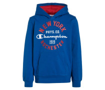 Sweatshirt - royal blue/red