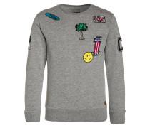 SMILE Sweatshirt grey melee