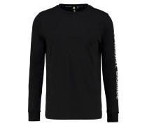 WHITECHAPEL Langarmshirt black/white
