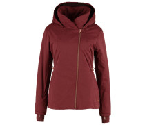 TO THE POINT Winterjacke dark red