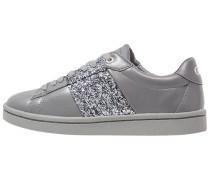 Sneaker low glitter pewter/pewter