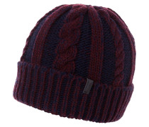Mütze rhubarb red