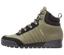 Schnürstiefelette olive cargo/clearblack/clearbrown