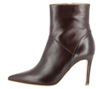High Heel Stiefelette - dark brown
