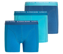 3 PACK Panties vallarta blue