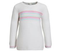 Strickpullover - off-white, multi-coloured