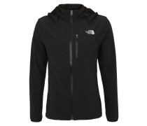 MOTILI - Softshelljacke - black