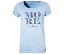 T-Shirt print - mittelblau