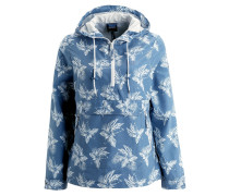 TROPICAL SMOCK Regenjacke / wasserabweisende Jacke ocean wave all over