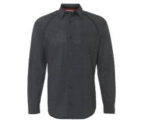 AEROTECH Hemd black melange