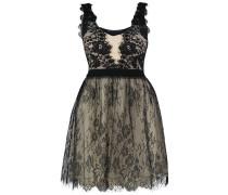 Cocktailkleid / festliches Kleid - black/beige