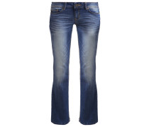 LORE Jeans Bootcut mid stone wash denim