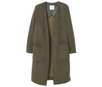 Wollmantel / klassischer Mantel - khaki