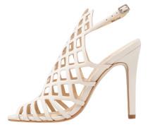 High Heel Sandaletten - ivory