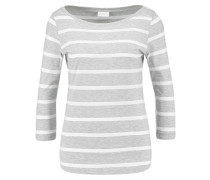 VISTRIPED - Langarmshirt - light grey melange/optical snow