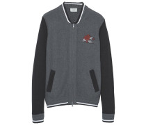 NEVER - Strickjacke - dark heather grey
