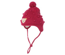 Mütze sangria red