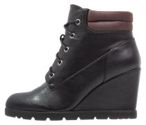 Ankle Boot black/dark brown